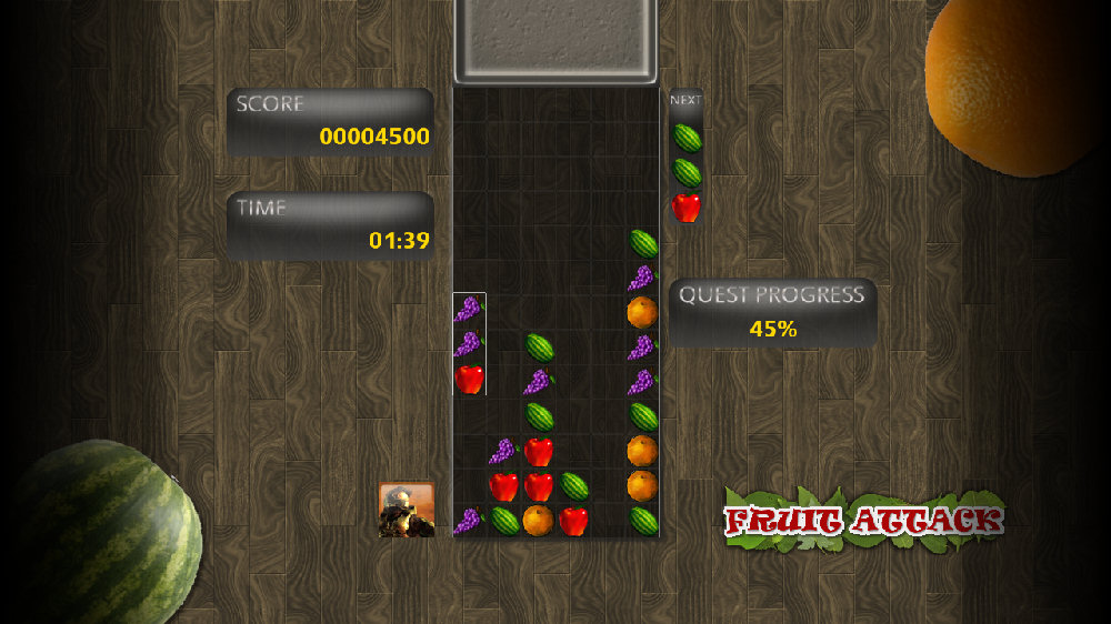 Image from Fruit Attack