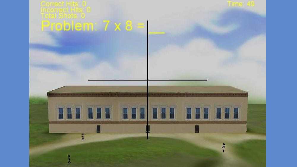 Image from Math Sniper 3D