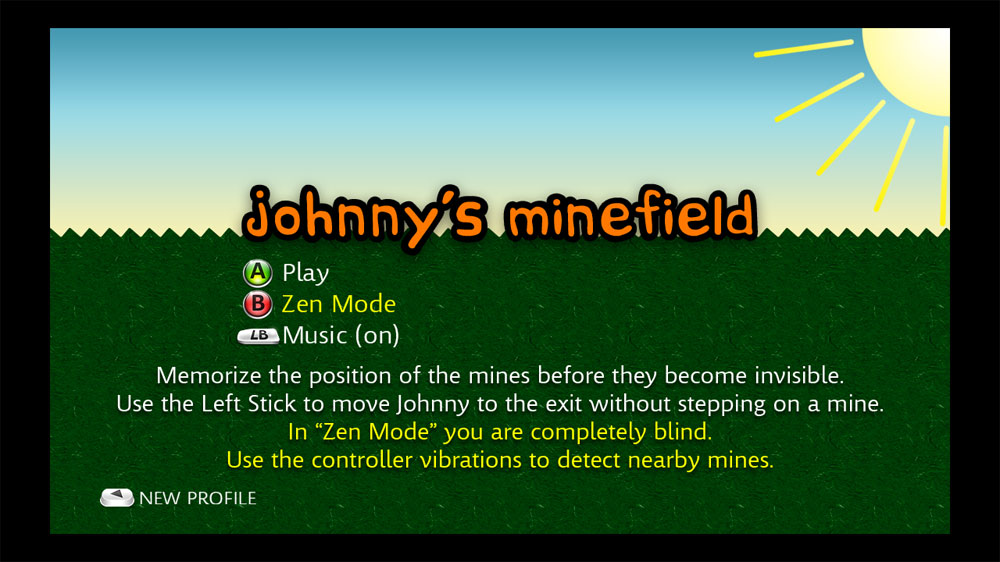 Image from Johnny&#39;s Minefield